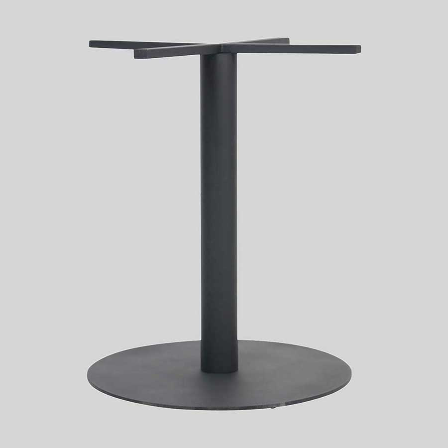 Carlton Round Commercial Table Base - Single Dining