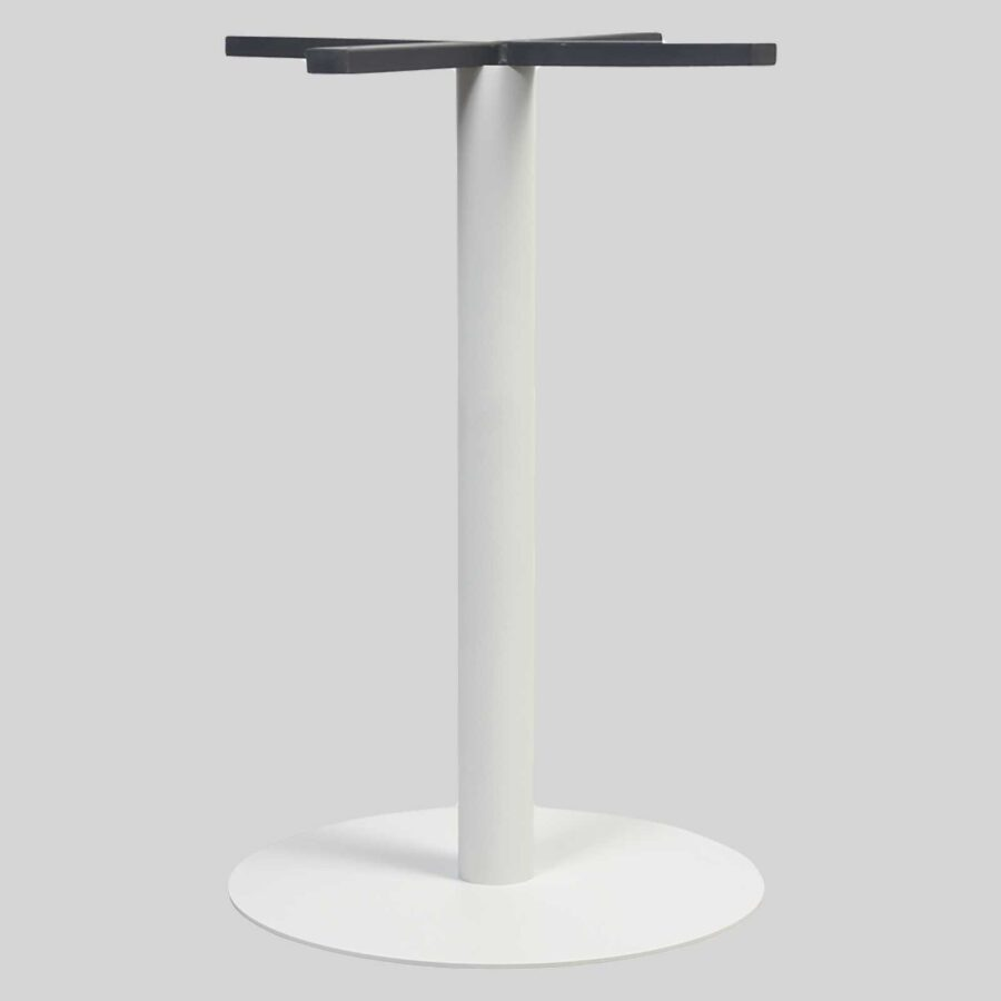 Carlton Round Table Base - Dining 45 - White