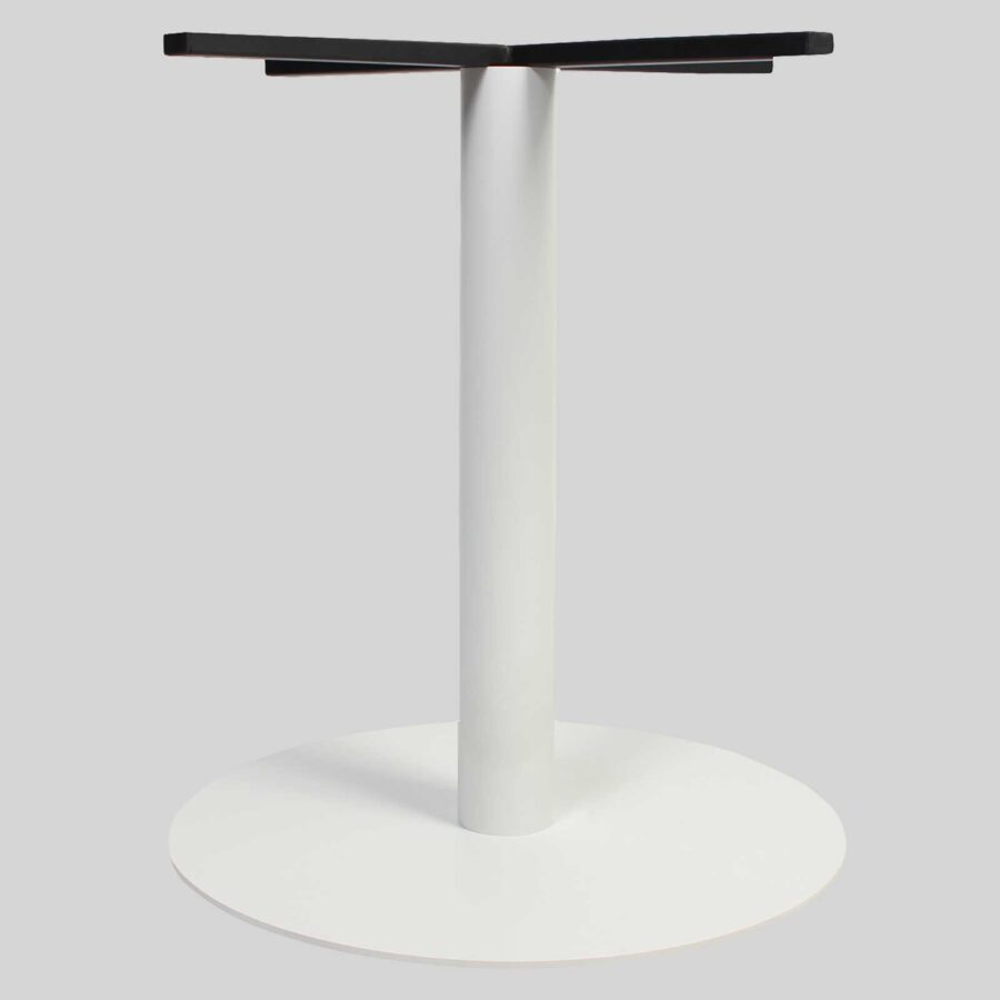 Carlton Round Table Base - Dining 54 - White
