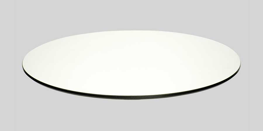 Compact Laminate Table Top - White