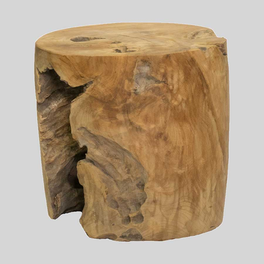 Davenport Stump Side Table / Low Stool