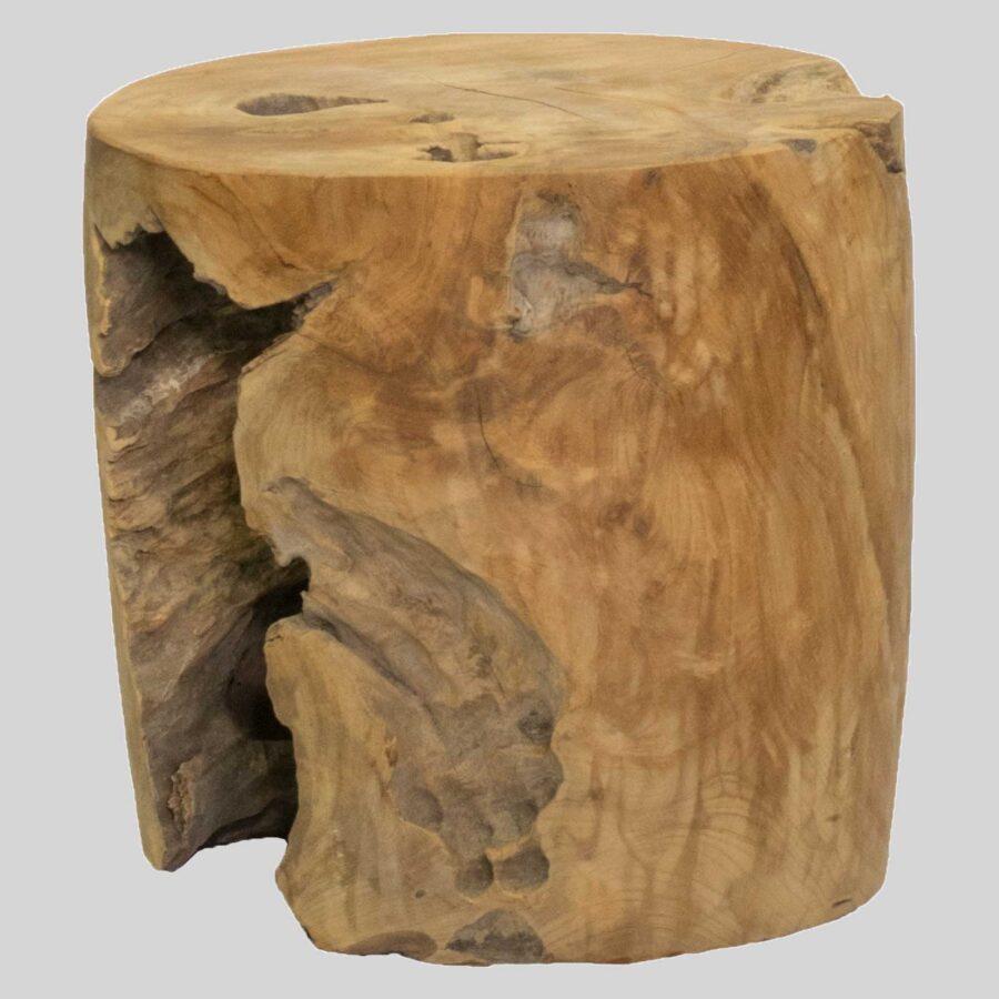 Davenport Stump Side Table / Low Stool