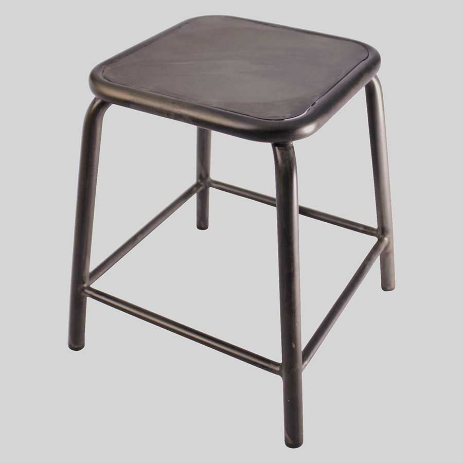 Dean Low Stool - Rustic