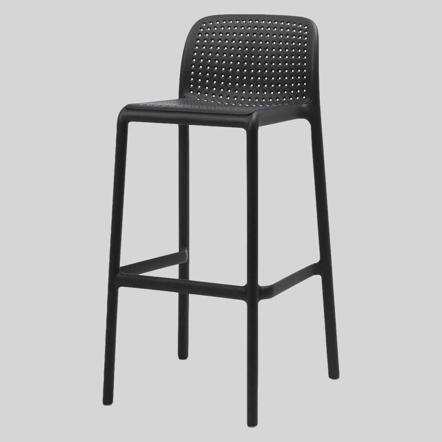 Lido Stool by Nardi - Anthracite