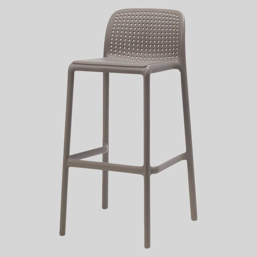 Lido Stool by Nardi - Taupe