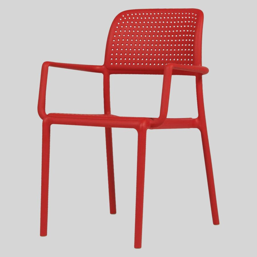 Dora Armchair - Red