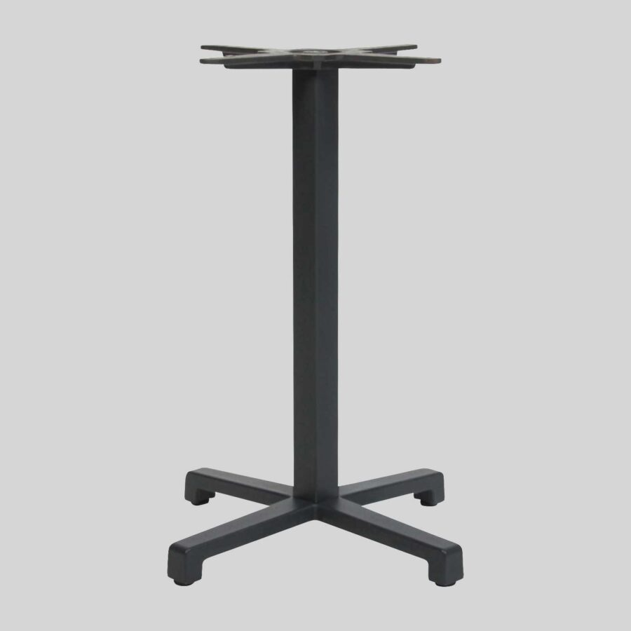 Dynamo Commercial Dining Table Base - Anthracite