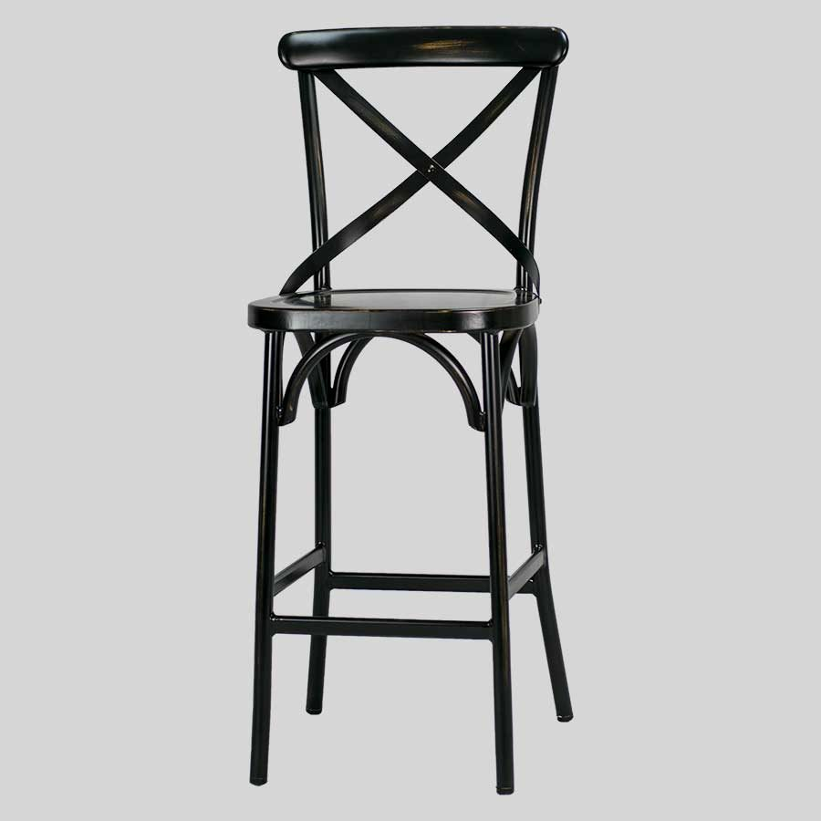 Florence Barstool - Antique Black