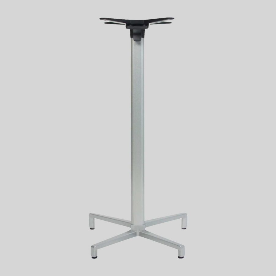 Folding O Folding Restaurant Tables Bar - Silver