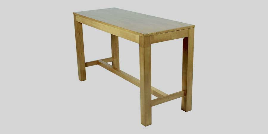 Funk 1800 commercial bar tables - Light Oak