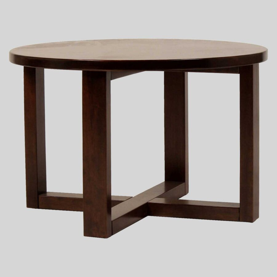Funk Coffee Tables for Restaurants - Side - Walnut