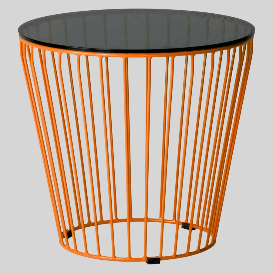 Gauge Commercial Coffee Tables - Orange