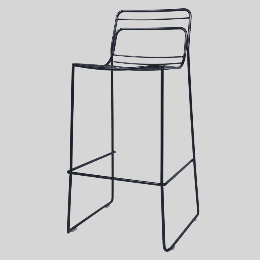 Gauge Bar Stool - Black