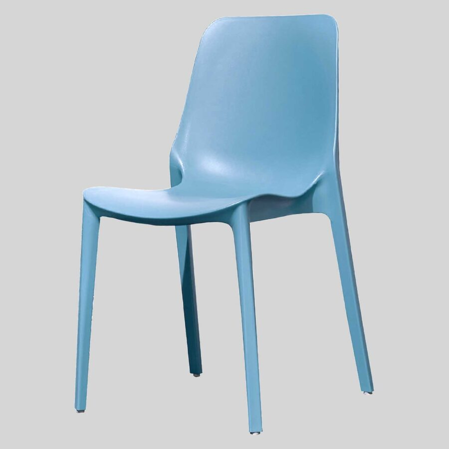 Jennifer cafe dining chairs - Blue