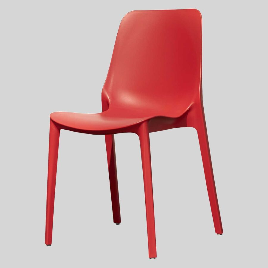 Jennifer cafe dining chairs - Red