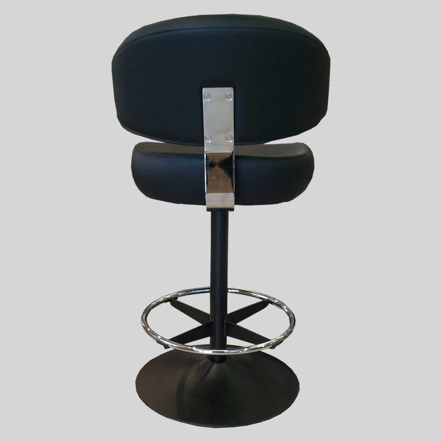 Knox Dome Gaming Stool - Black