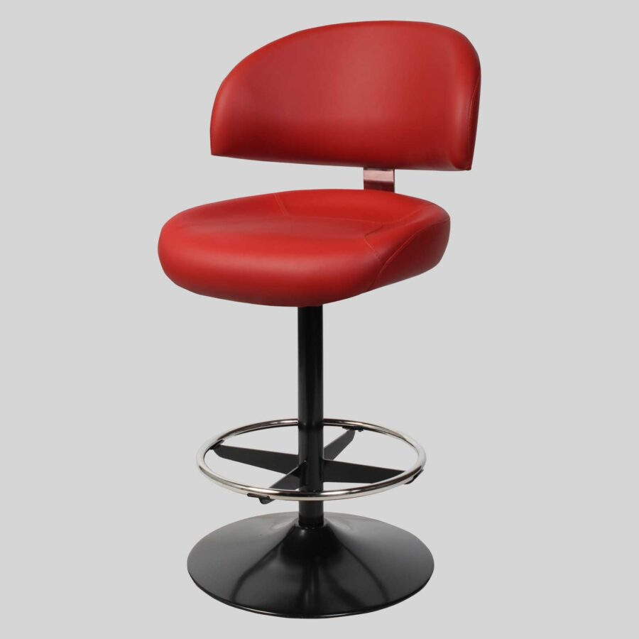 Knox Dome Gaming Stools - Red
