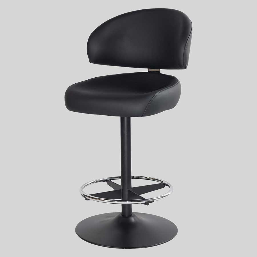 Knox Dome Gaming Stools - Black