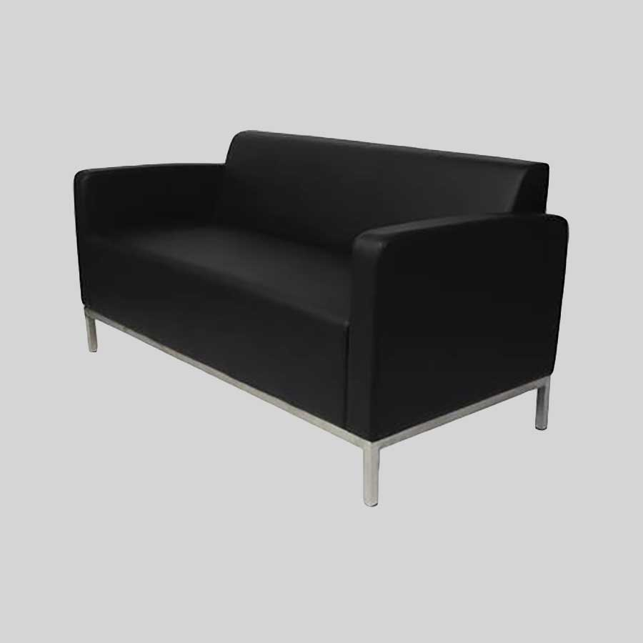 Kube Double Lounge - Black