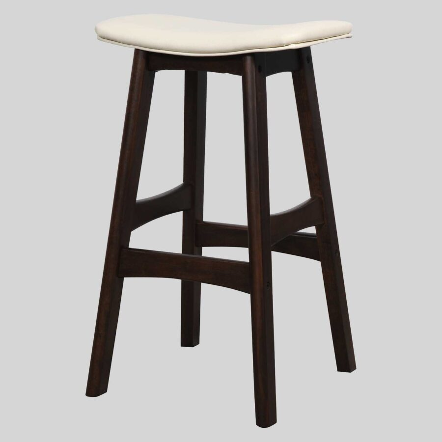 Magnum Counter Stool - Chocolate/Cream