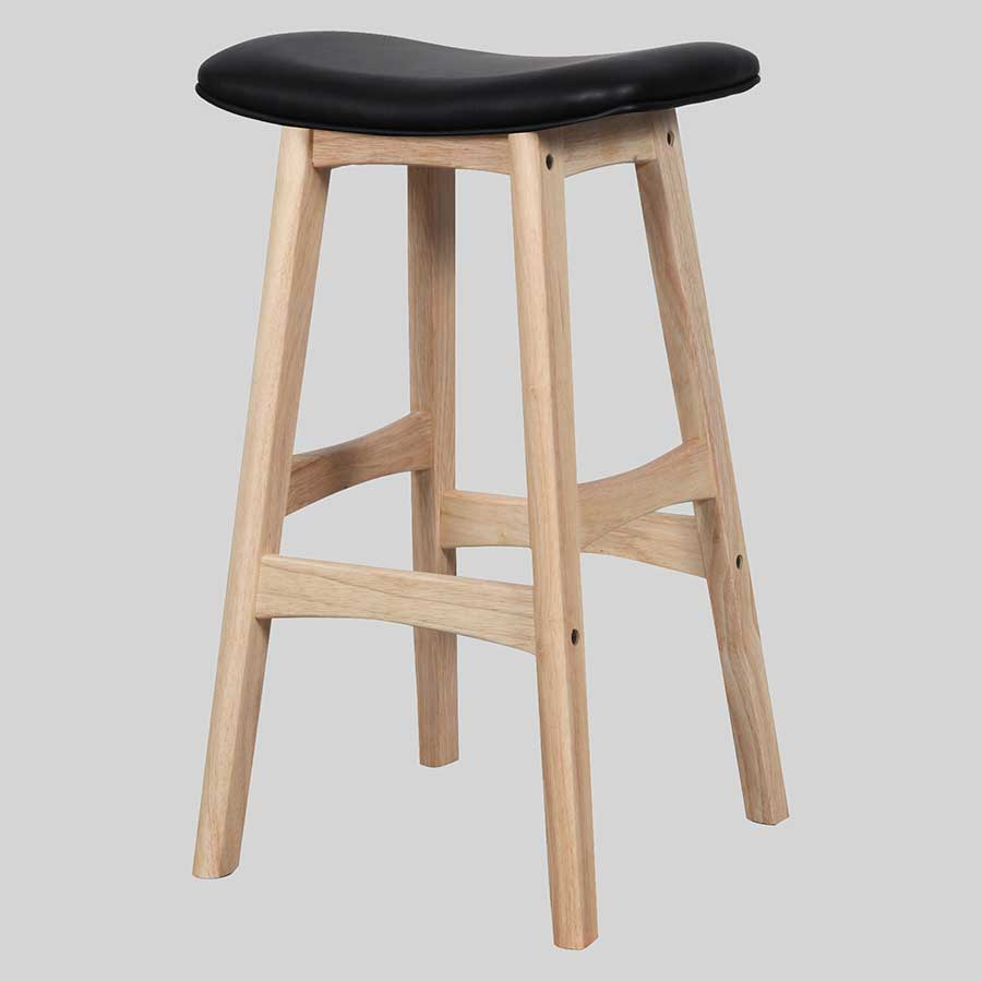 Magnum Counter Stool - Natural/Black