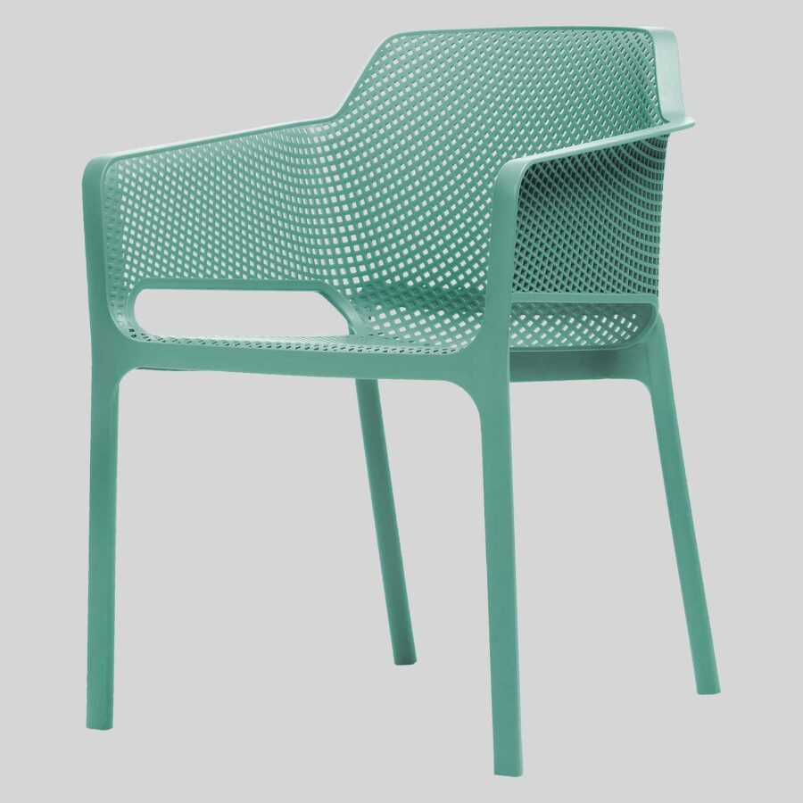 Mette Cafe Armchairs - Green