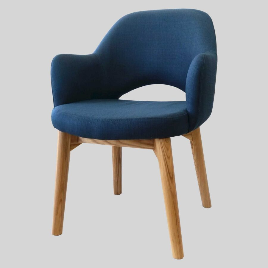 Mulberry Occasional Armchair - Blue/Natural