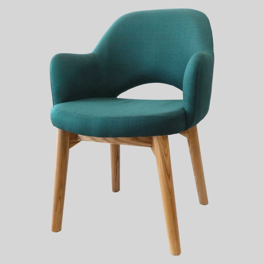 Mulberry Occasional Armchair - Teal/Natural