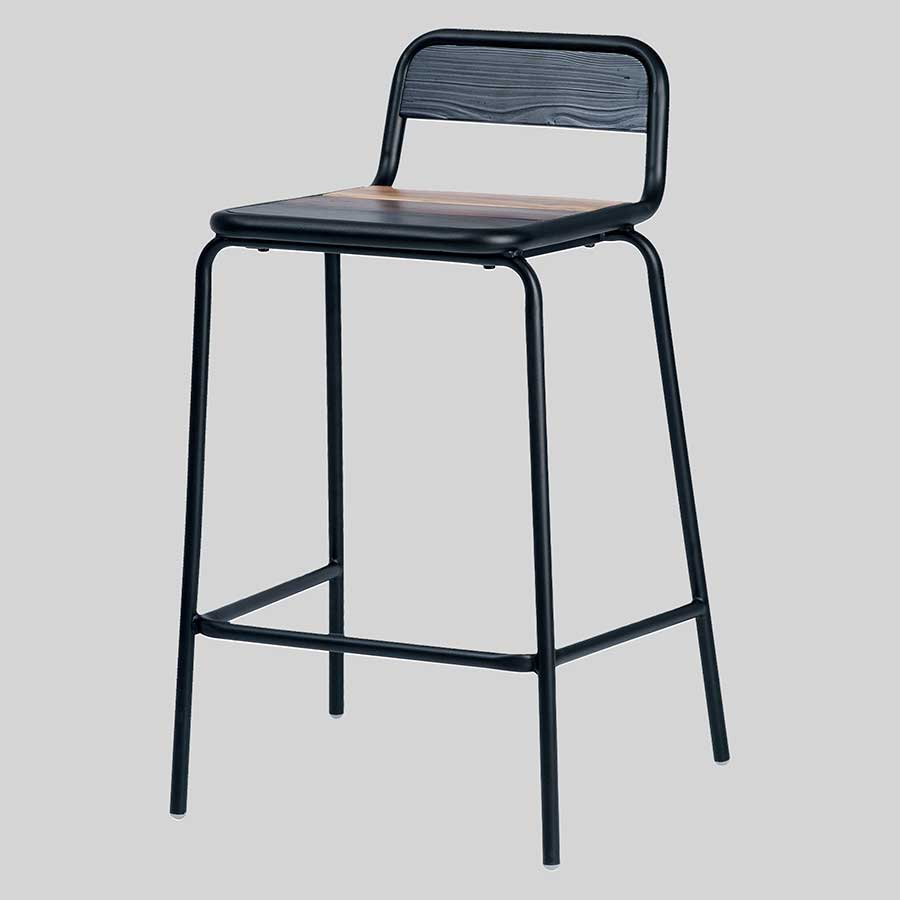 Newport Counter Stool - Black
