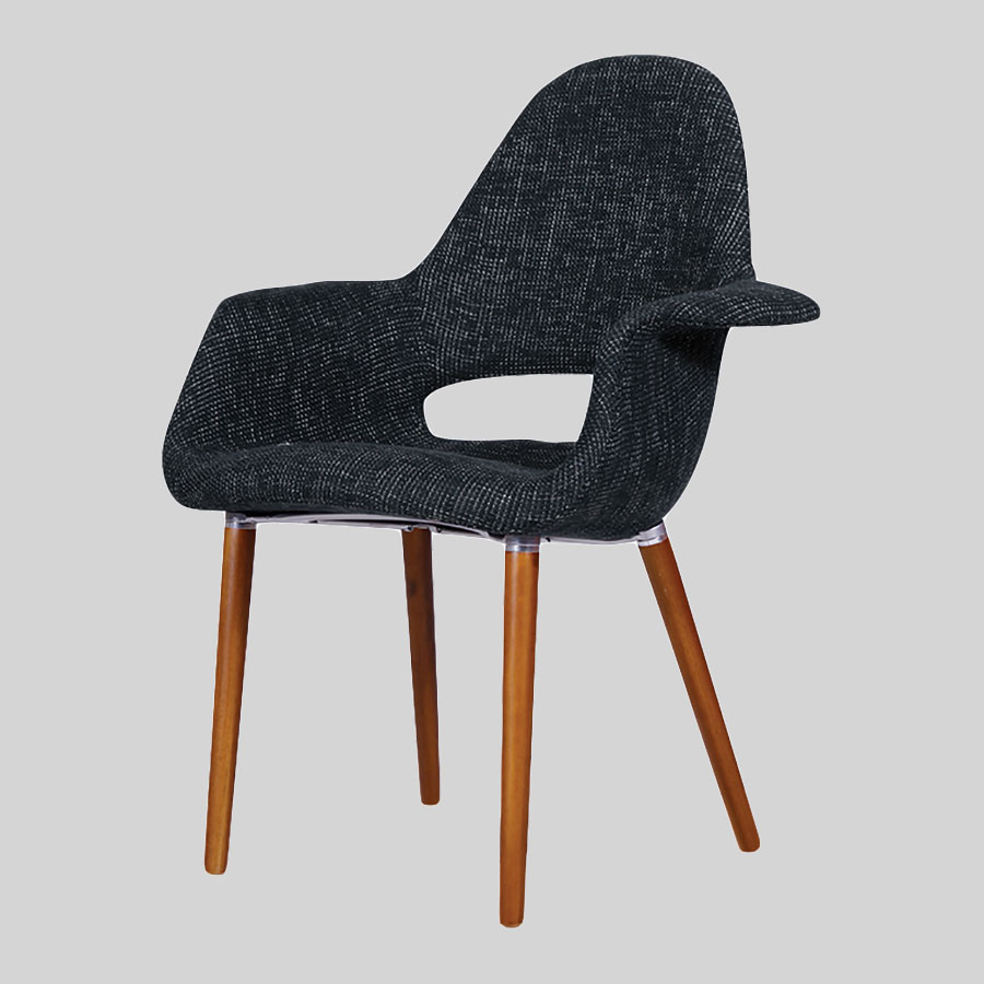 Orion Occasional Lounge Chair - Charcoal