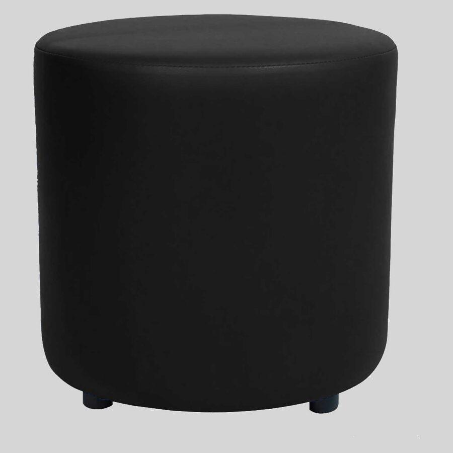 Ottoman Round - Black