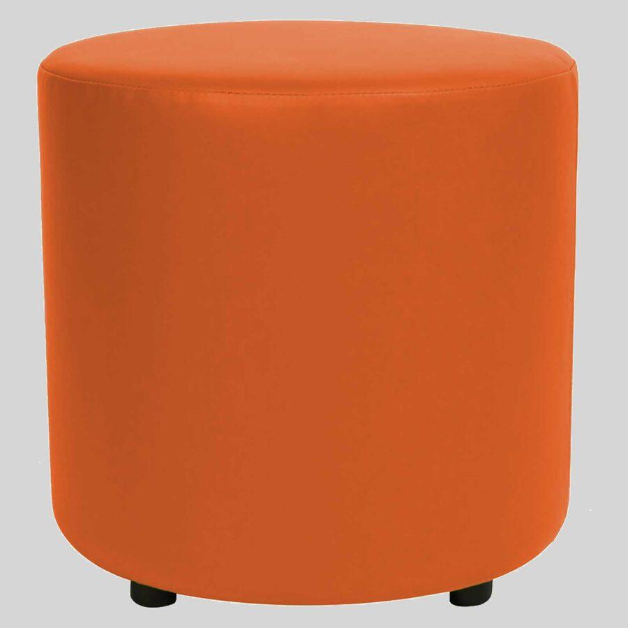 Ottoman Round - Orange