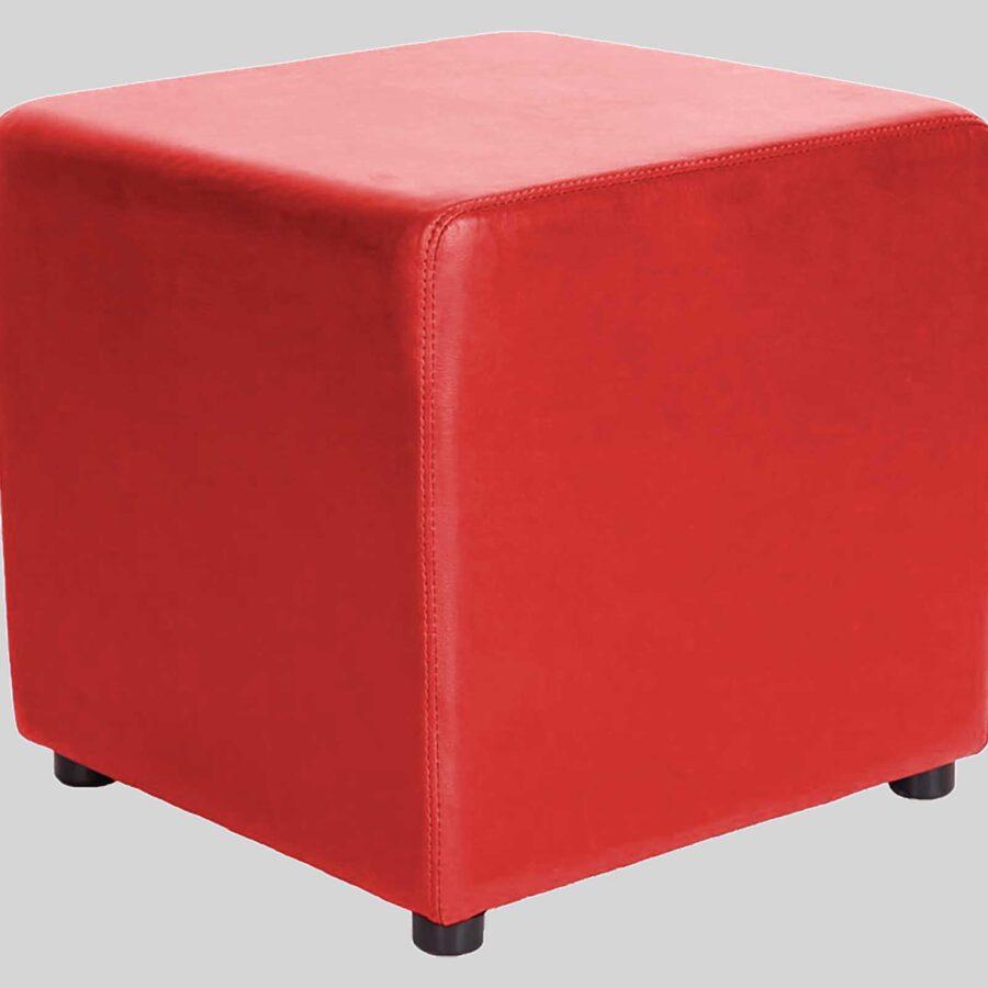 Ottoman Square - Red