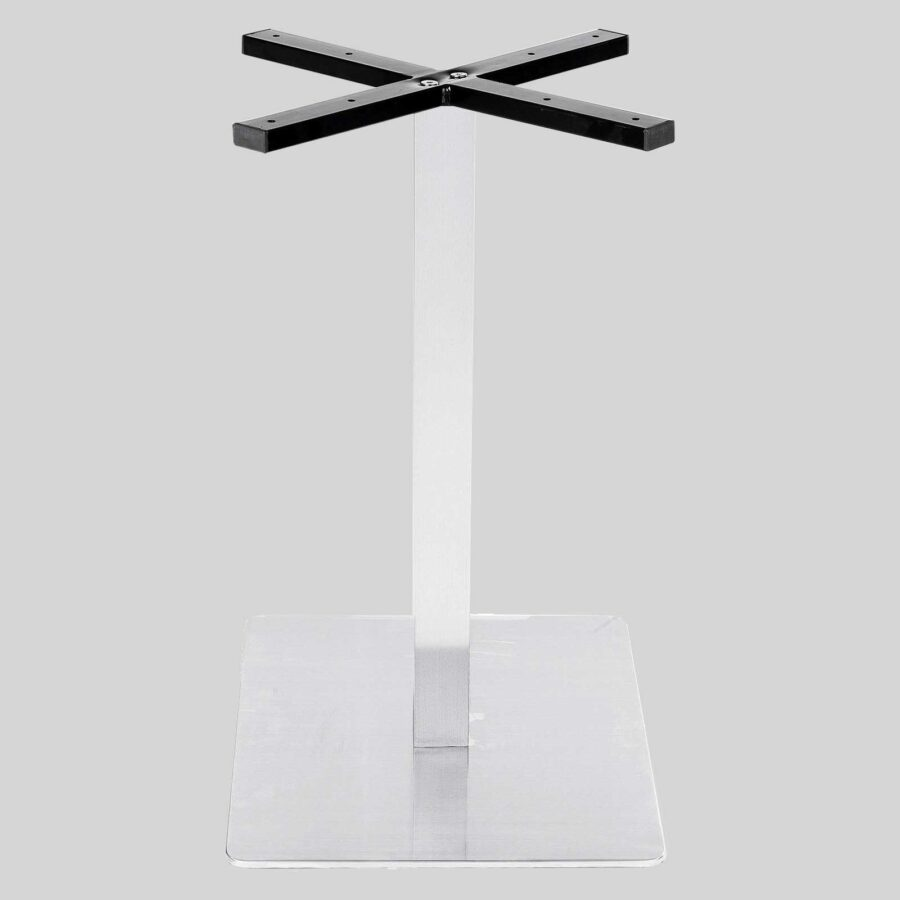 Plaza Table Base - Stainless Steel