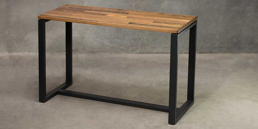 Citadel Bar Table Frame - Black