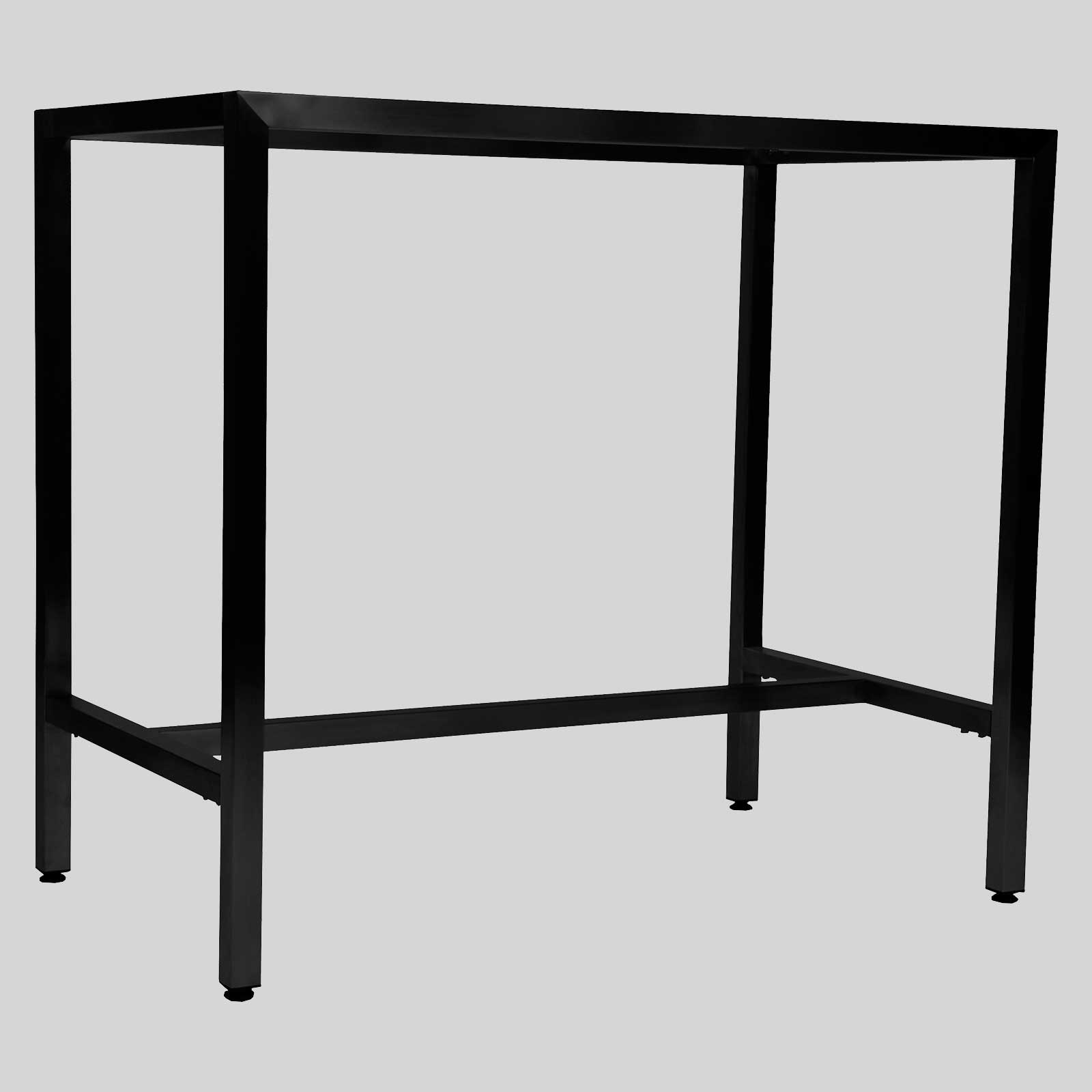 Richmond bar table base 1200 black