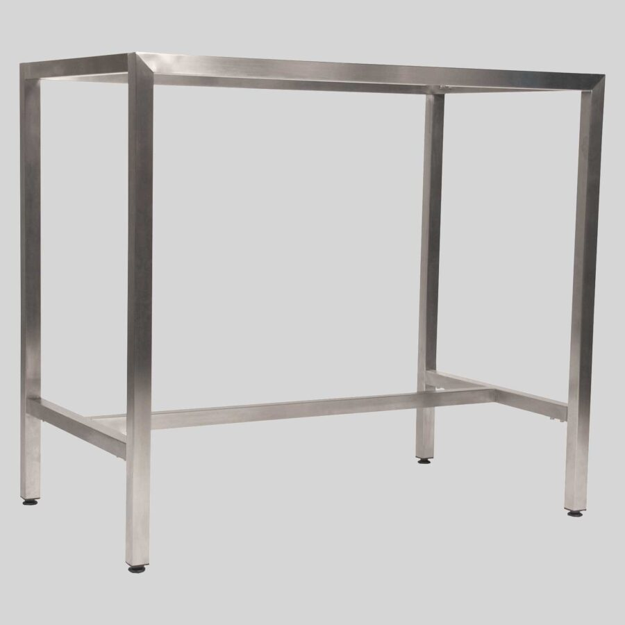 Richmond Bar Table Base 1200 - Stainless