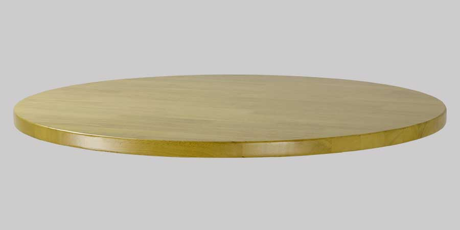 Rubberwood Restaurant Table Top