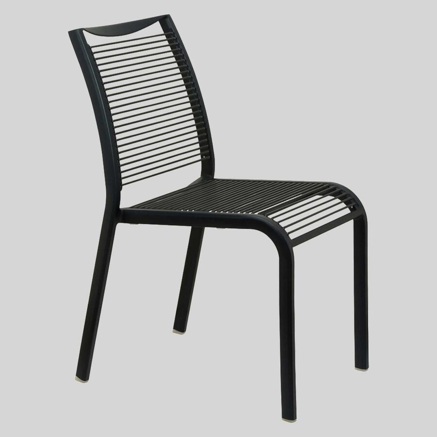 Waverly Chair Furniture - Black