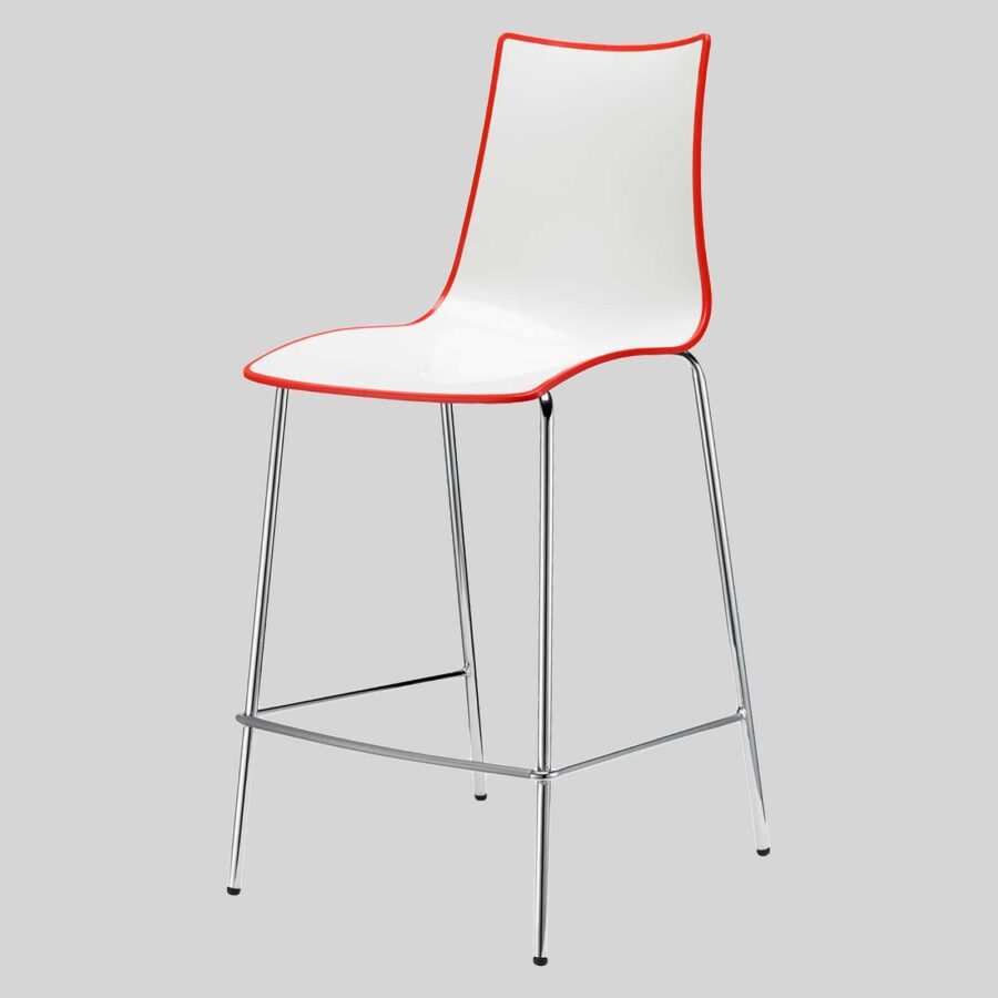 Zelda Duo Counter Stool - Red