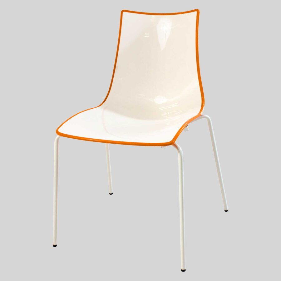 Zelda Duo Chair - Orange