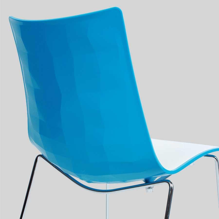 Zebra Bicolore Chair by SCAB