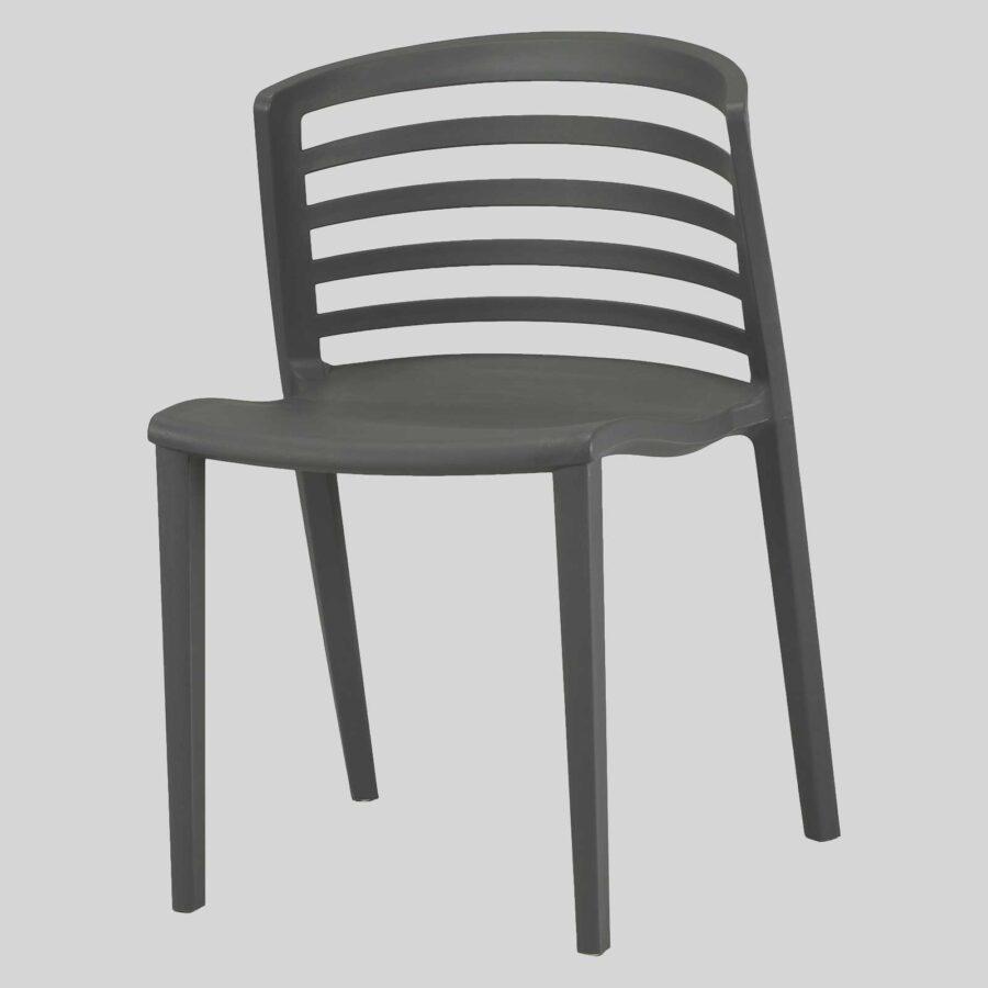 Brighton Outdoor Restaurant Chairs - Anthracite