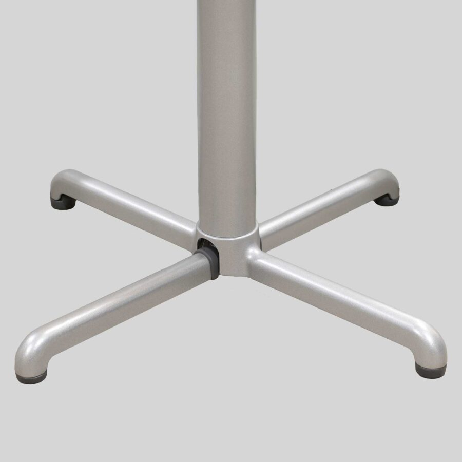 Gyro Swoose Self-Leveling Table Base - Silver