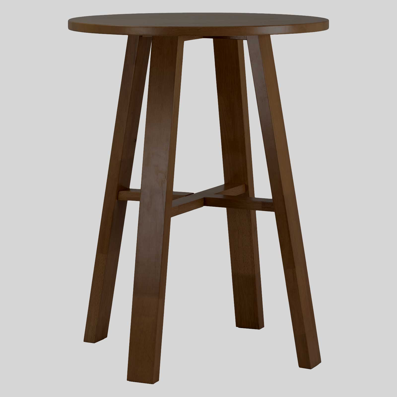 funk wooden bar table walnut - Wooden Bar Table