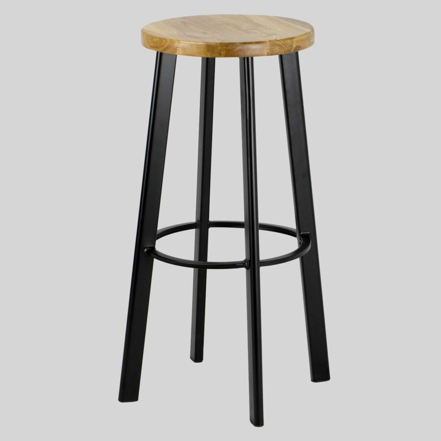 Nika Bar Stool - Black