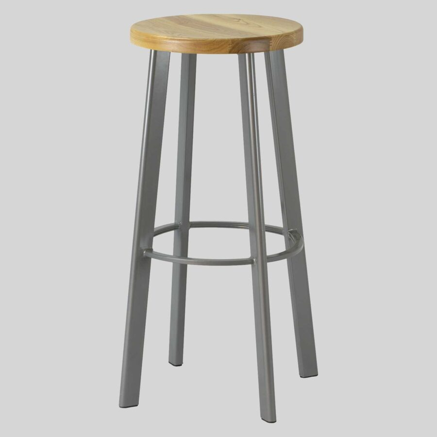 Nika Bar Stool - Grey
