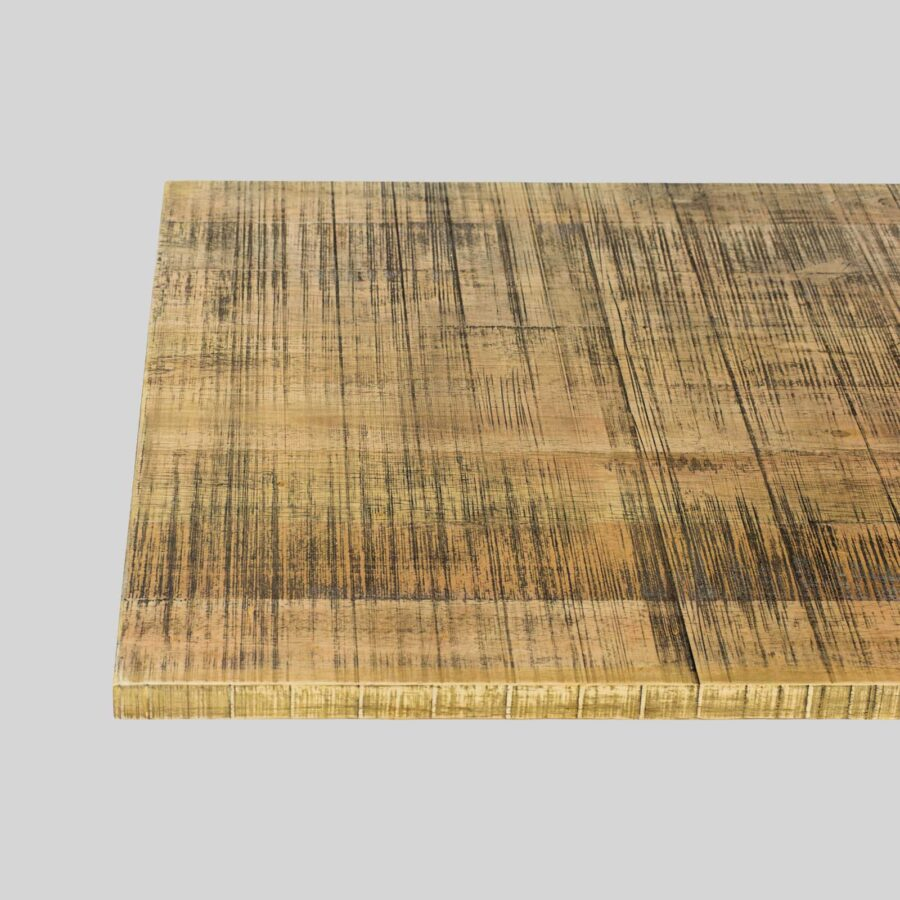 Rough-Sawn Table Top - 800x800