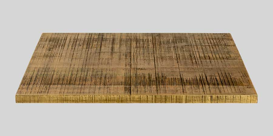 Rough-Sawn Table Top