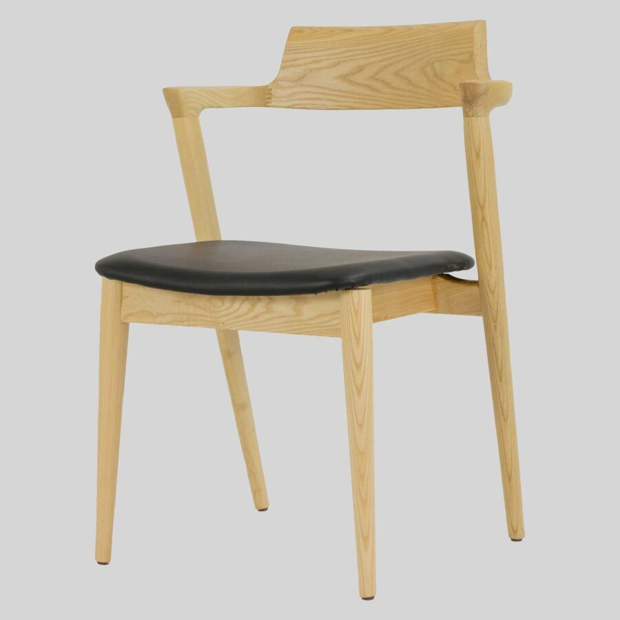 Kingston Side Chair - Natural, mid-century designer looks